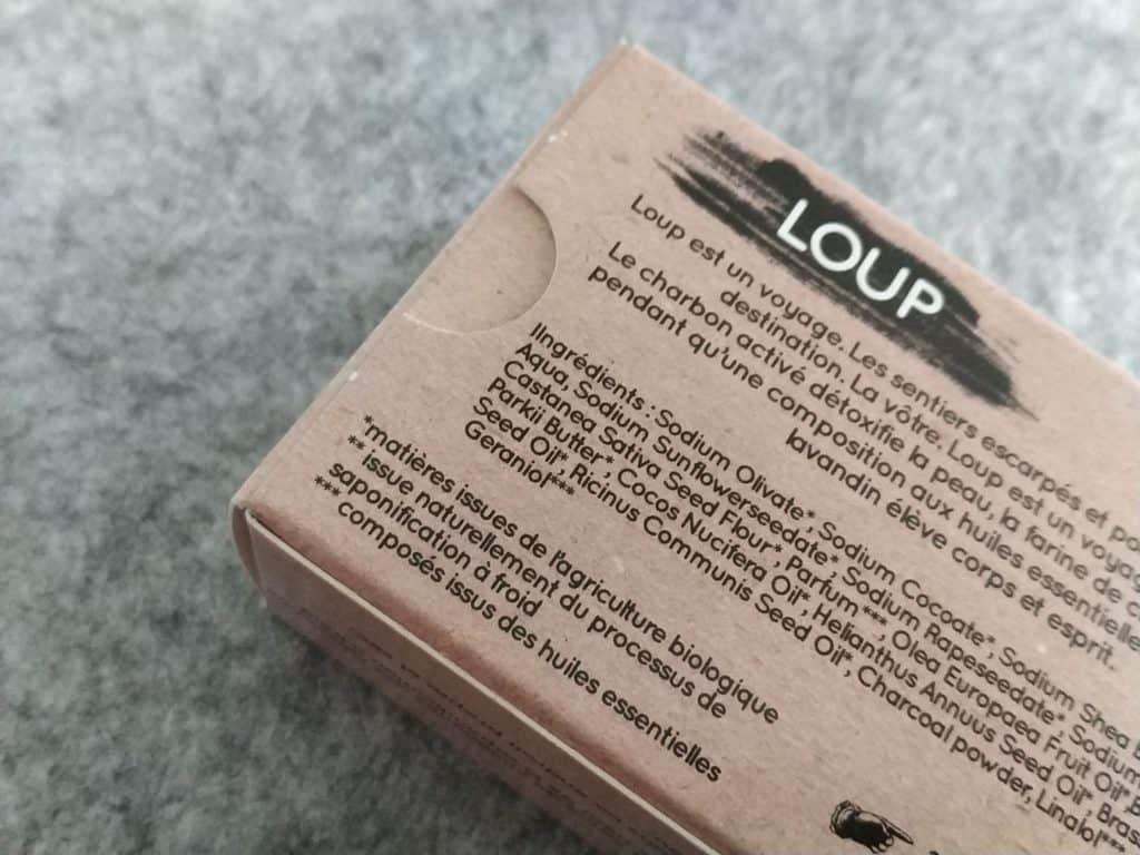 Savon Loup liste ingrédients