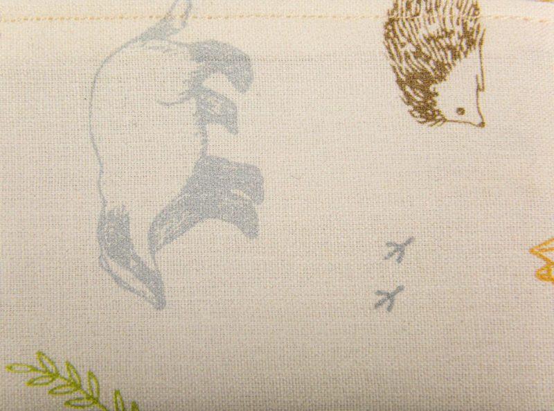 pochette à savon pattern beige