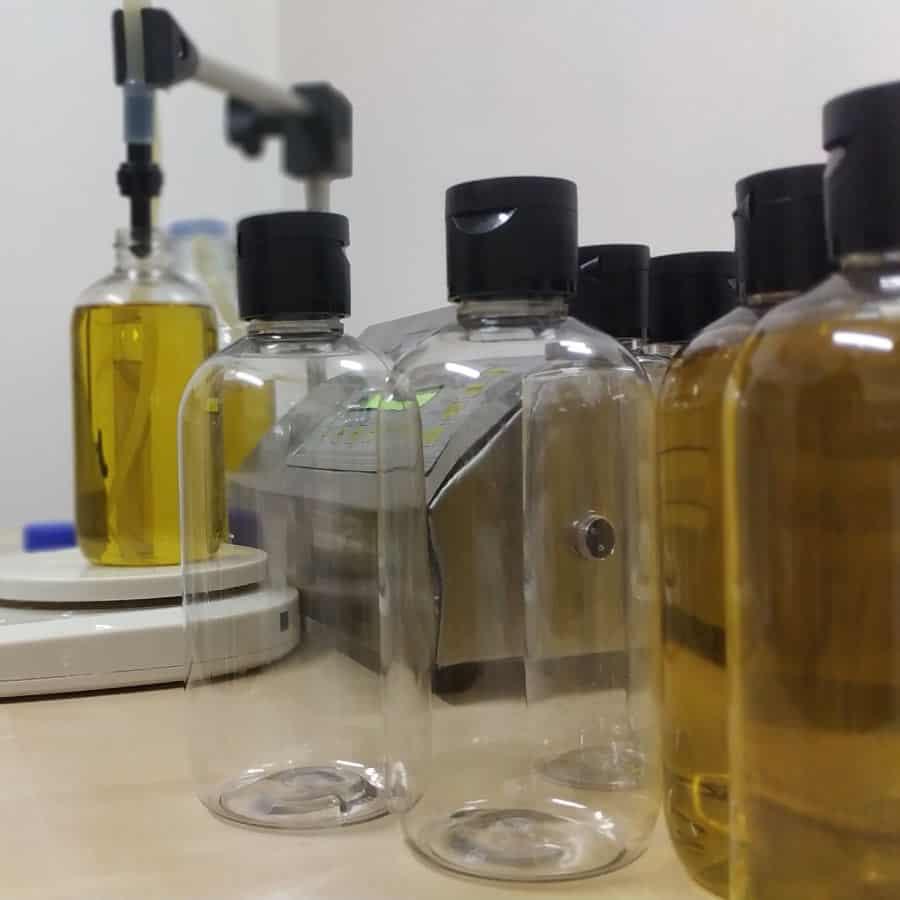 recherche de composition pour la fabrication des savons
