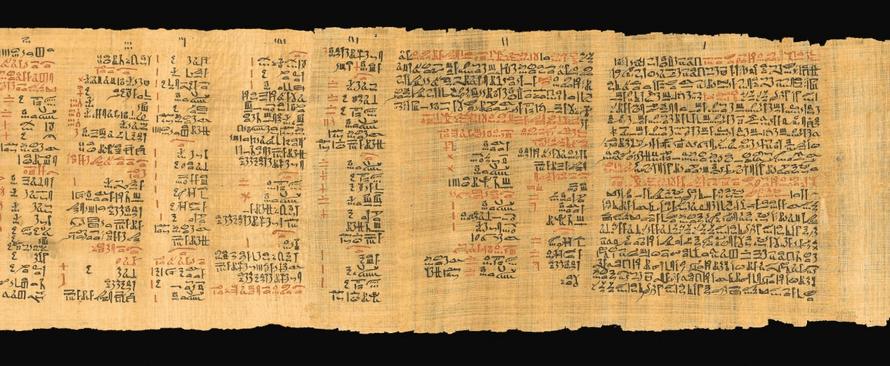 Papyrus Eber savon égyptien