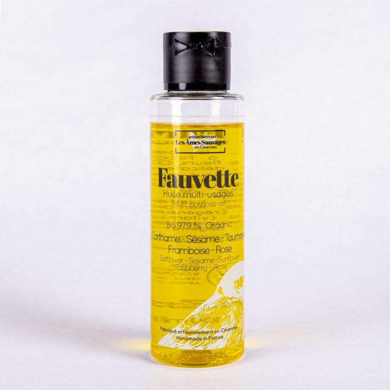 huile corporelle Fauvette les Ames Sauvages